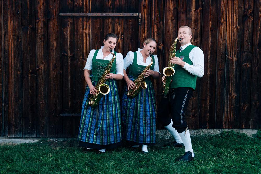 Musikverein Winterstettenstadt, Saxophone